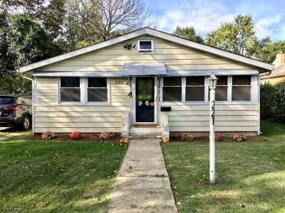 Parsippany-Troy Hills Twp. Single Family Home For Sale: 221 Allentown Rd