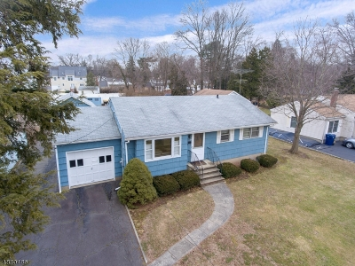 Fanwood Boro Single Family Home For Sale: 8 Tower Pl