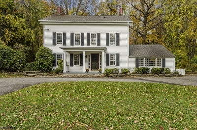Chester Twp. NJ Single Family Home For Sale: $585,000