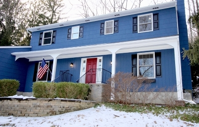 Randolph Twp. Single Family Home For Sale: 80 Brookside Rd