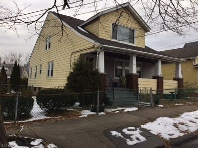 Paterson City Single Family Home For Sale: 176-180 Ryerson Ave