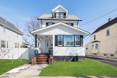 Roselle Park Boro Multi Family Home For Sale: 123 Roosevelt St