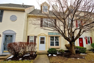 South Brunswick Twp. Condo/Townhouse Active Under Contract: 125 Daniel Ct