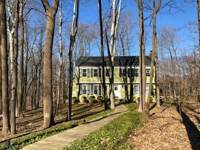 Somerset County Single Family Home For Sale: 57 Wolf Hill Drive