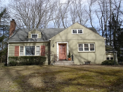 Chatham Twp. NJ Single Family Home For Sale: $899,000