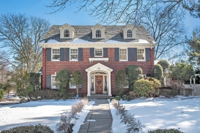 Montclair Twp. Single Family Home For Sale: 211 N Mountain Ave