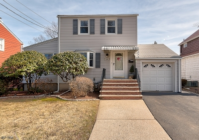Nutley Twp. NJ Single Family Home For Sale: $349,900