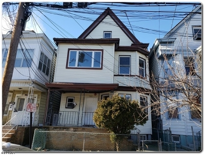 Paterson City Multi Family Home For Sale: 864 864 E 23rd Street