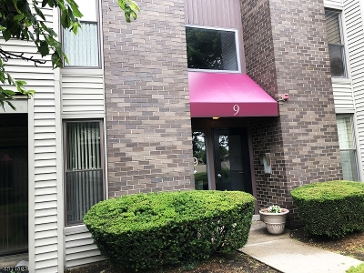 Nutley Twp. NJ Condo/Townhouse For Sale: $118,000