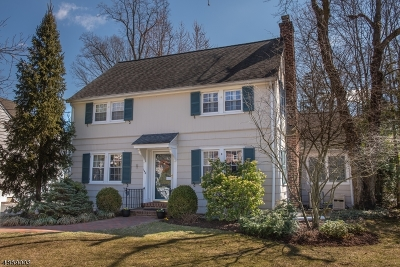 Summit Single Family Home For Sale: 140 Ashland Rd