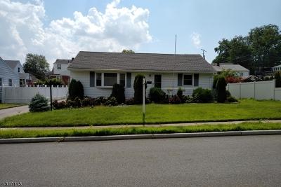 Totowa Boro Single Family Home For Sale: 187 Gordon Ave
