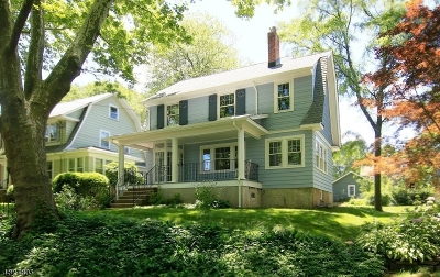 Maplewood Twp. Single Family Home For Sale: 86 Plymouth Ave