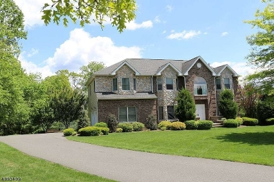 Parsippany-Troy Hills Twp. Single Family Home For Sale: 3 J Rapps Ct