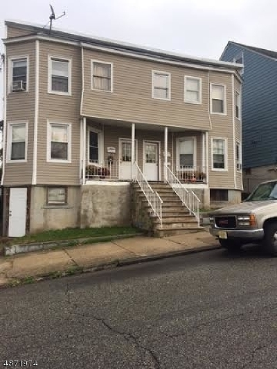 Paterson City Multi Family Home For Sale: 125-127 E 23rd St