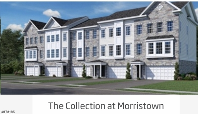 Morristown Town, Morris Twp. Condo/Townhouse For Sale: 4 Gerhard Place #2