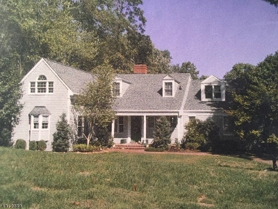 Morris Twp., Morristown Town Single Family Home For Sale: 15 Wedgewood Ln