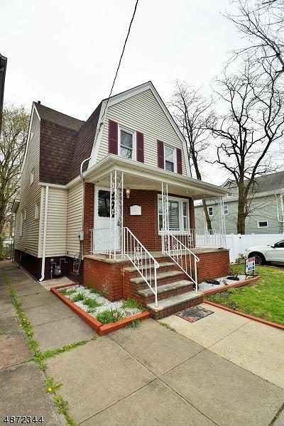Roselle Park Boro Single Family Home For Sale: 123 Columbus Pl
