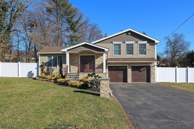 Mountainside Single Family Home For Sale: 348 Summit Rd