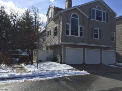 Morristown Town, Morris Twp. Condo/Townhouse For Sale: 10 Witherspoon Ct