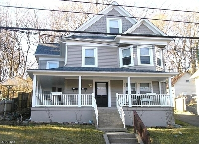 Morris Twp., Morristown Town Multi Family Home For Sale: 21 Fairview Pl