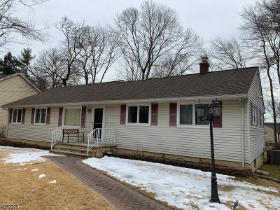 Parsippany Single Family Home Active Under Contract: 1081 Knoll Rd