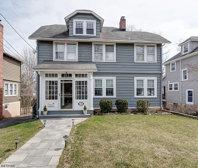 Chatham Boro Single Family Home For Sale: 12 N Summit Ave