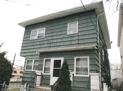 Passaic City Multi Family Home For Sale: 33-35 Pennington Ave