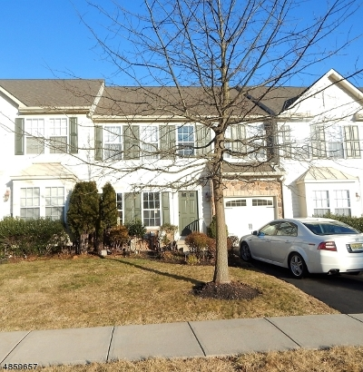 Hillsborough Twp. Condo/Townhouse For Sale: 3 Steele Pl