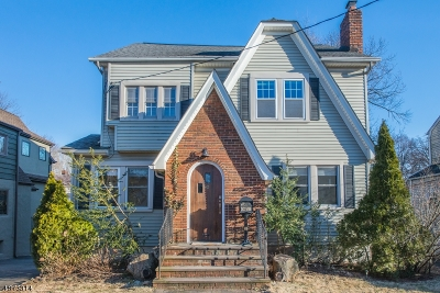 Millburn Twp. Single Family Home For Sale: 80 Locust Ave