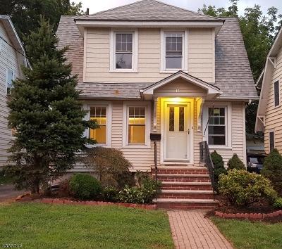 Millburn Twp. Single Family Home For Sale: 17 Oakdale Ave