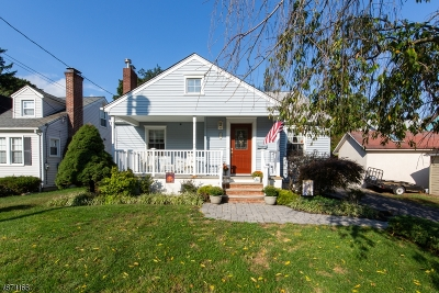 Morristown Town, Morris Twp. Single Family Home For Sale: 1 Sherman Pl