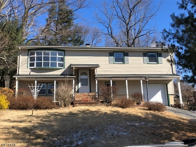 Byram Twp. Single Family Home For Sale: 15 Mt Heights Dr