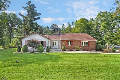Martinsville Single Family Home Active Under Contract: 2212 Washington Valley Rd