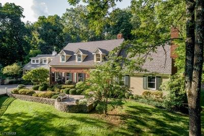 Bernards Twp., Bernardsville Boro Single Family Home For Sale: 80 Overleigh Rd