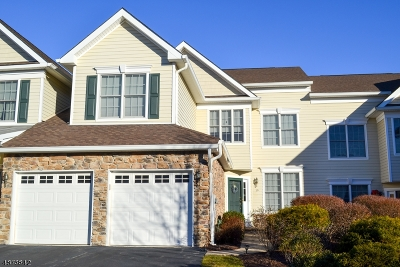 Hardyston Twp. Condo/Townhouse For Sale: 19 Briar Ct