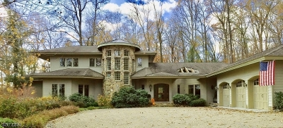 Mendham Twp. NJ Single Family Home For Sale: $1,590,000