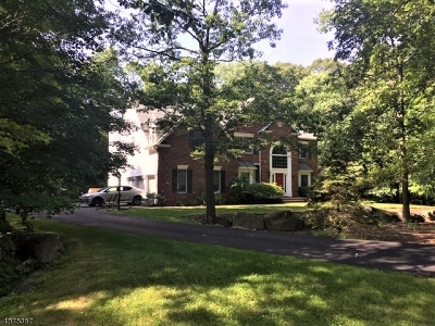 Sparta Twp. Single Family Home For Sale: 14 Crystal Rock Rd