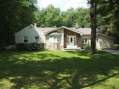 Stillwater Twp. Single Family Home For Sale: 1043 Mt Benevolence Rd