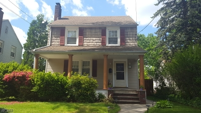 Roselle Park Boro Single Family Home For Sale: 331 E Colfax Ave