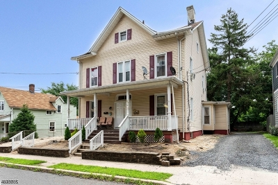 Somerville Boro Multi Family Home For Sale: 20 Mechanic St