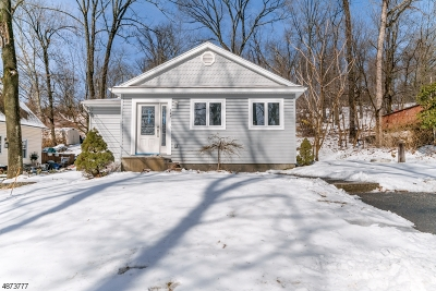 Boonton Twp. Single Family Home For Sale: 149 Canyon Rd