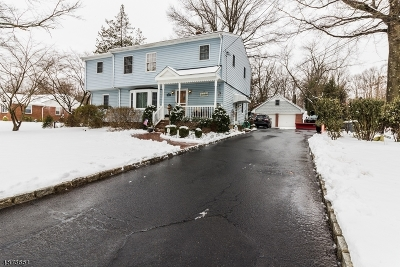 Scotch Plains Twp. Single Family Home For Sale: 1520 Rahway Rd