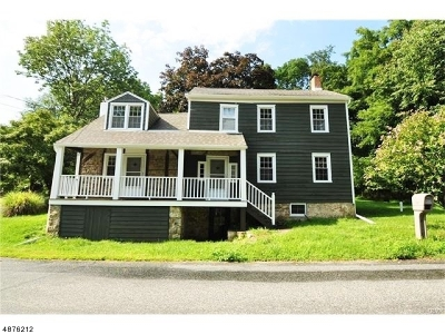 Lebanon Twp. Single Family Home For Sale: 36 Anthony Rd