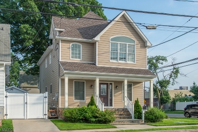 Paterson City Single Family Home For Sale: 220 Michigan Ave