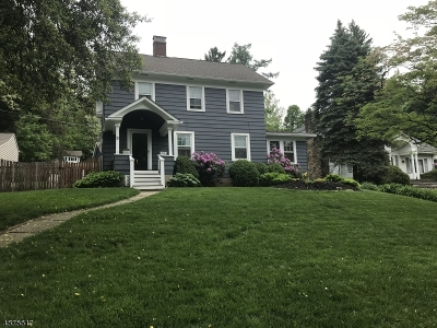High Bridge Boro Single Family Home For Sale: 9 Mountain Ave