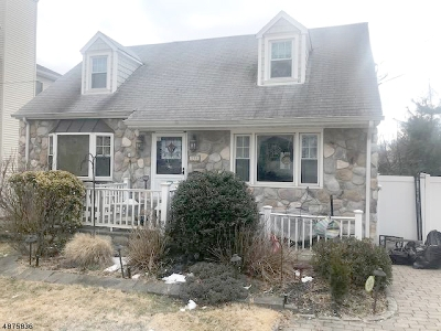 Westfield Town NJ Single Family Home For Sale: $439,000