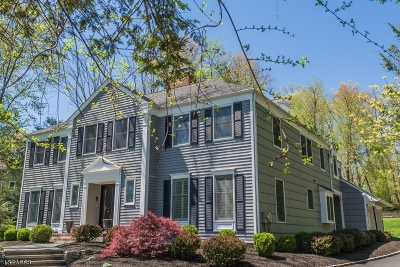 Bernards Twp., Bernardsville Boro Single Family Home For Sale: 375 Grist Mill Dr