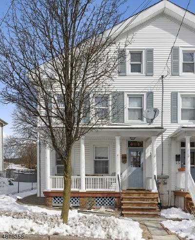 Boonton Town Single Family Home For Sale: 811 Cedar St