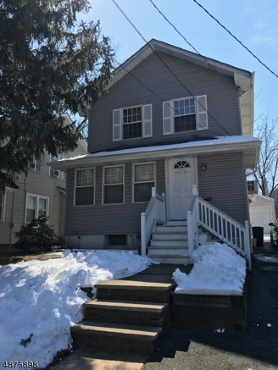 Nutley Twp. NJ Single Family Home For Sale: $324,900