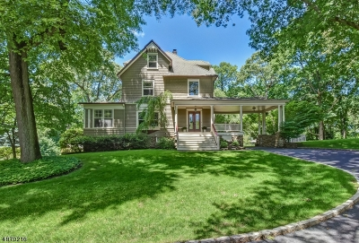 Chatham Twp. Single Family Home For Sale: 49 Hilltop Ter